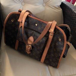 Louis Vuitton Baxter Dog Carrier or Tote GM